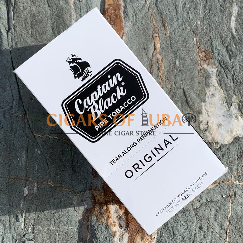 Captain Black Original Pipe Tobacco - Cigars of Dubai