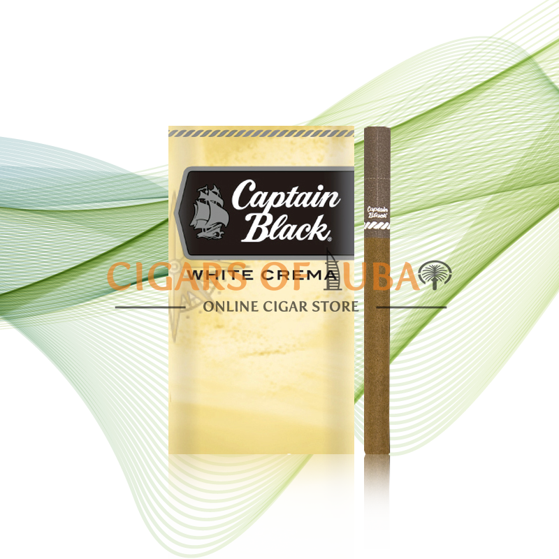 Captain Black White Crema Little Cigars - Cigars of Dubai