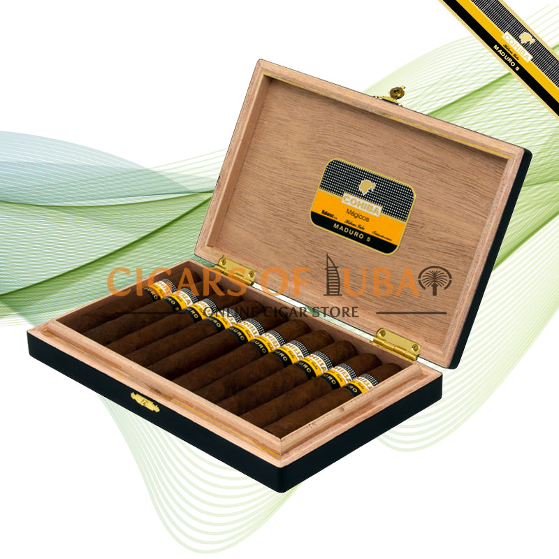 Cohiba Maduro 5 Magicos (Box of 10) - Cigars of Dubai