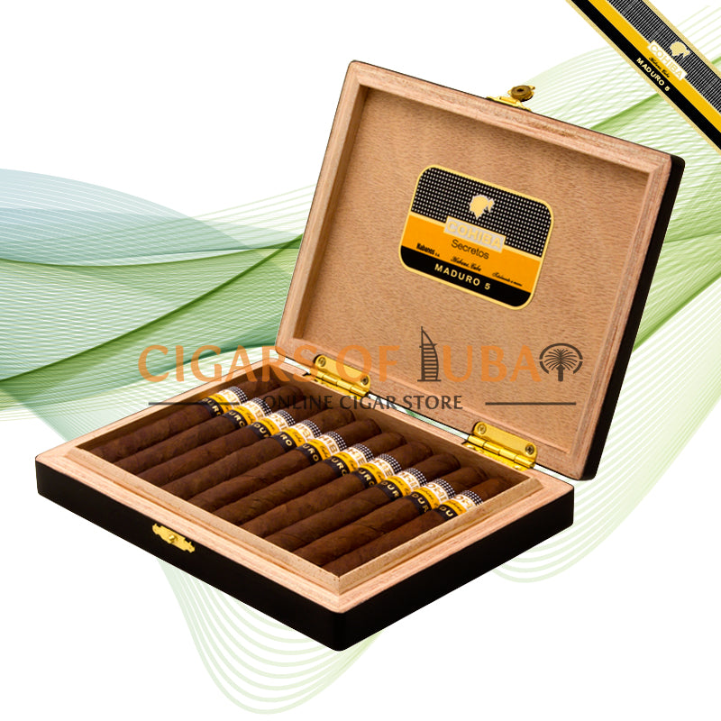 Cohiba Maduro 5 Secretos (Box of 10) - Cigars of Dubai