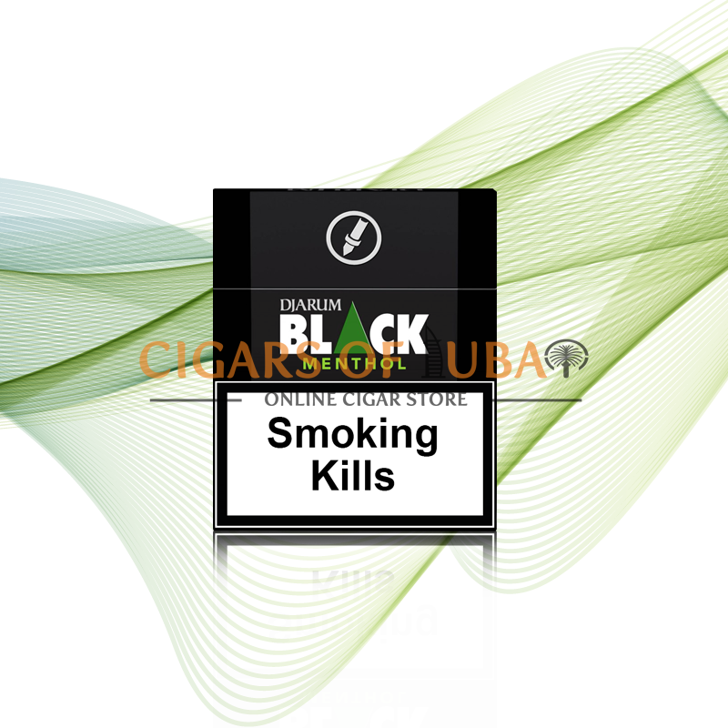 Djarum Black Menthol - Cigars of Dubai