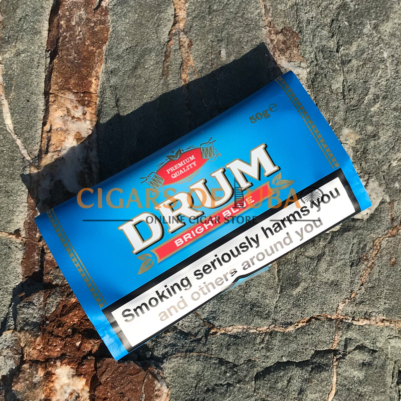 Drum Bright Blue 50g - Cigars of Dubai