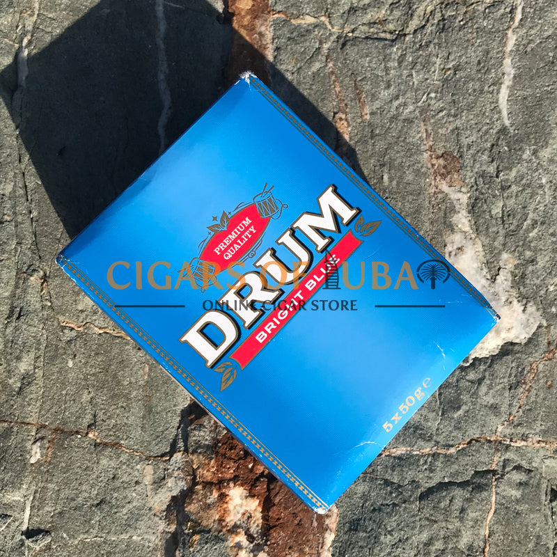 Drum Bright Blue 5x50g - Cigars of Dubai