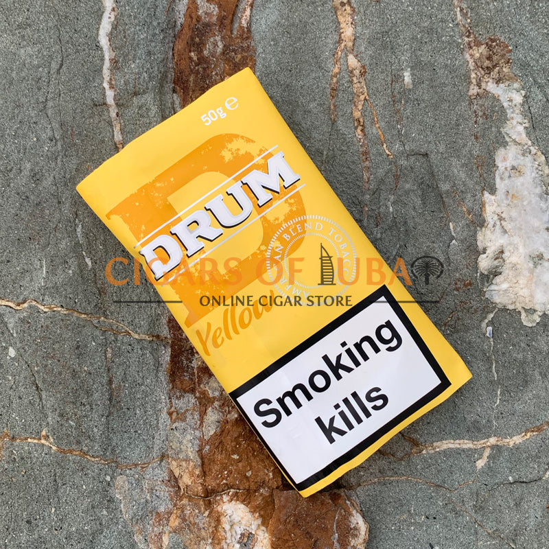 Drum Yellow (Gold) 50g - Cigars of Dubai