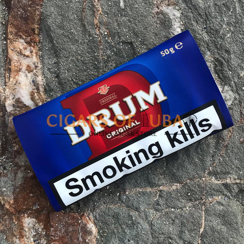 Drum Original Blue (Old) 50g - Cigars of Dubai