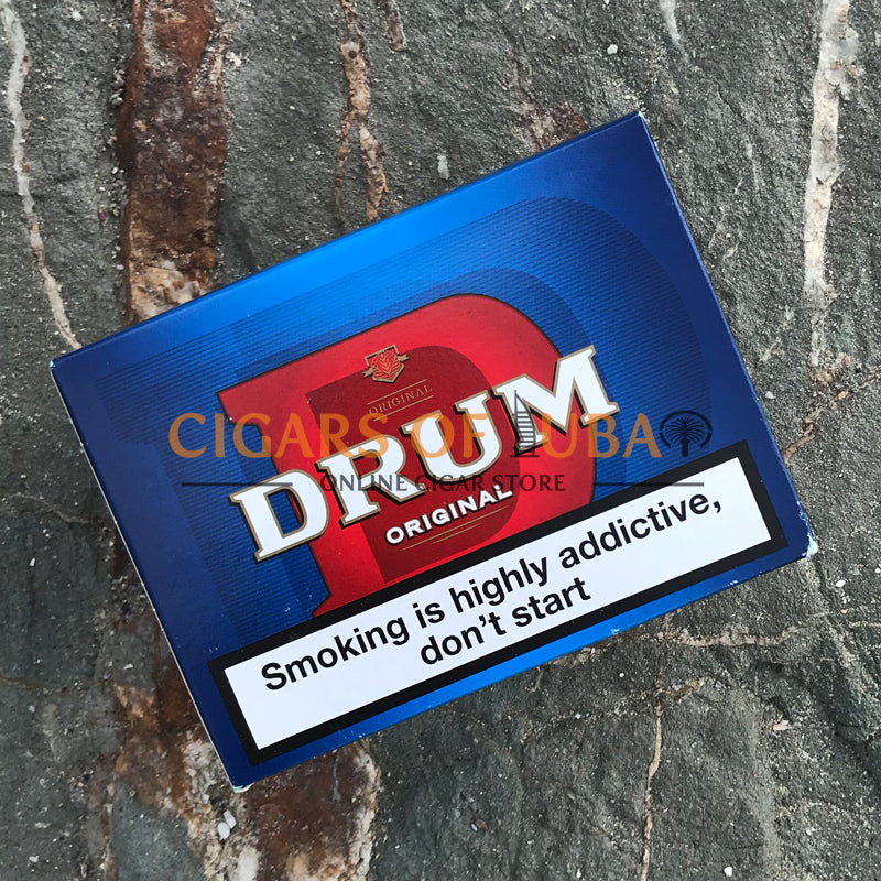 Drum Original Blue (Old) 5x50g - Cigars of Dubai