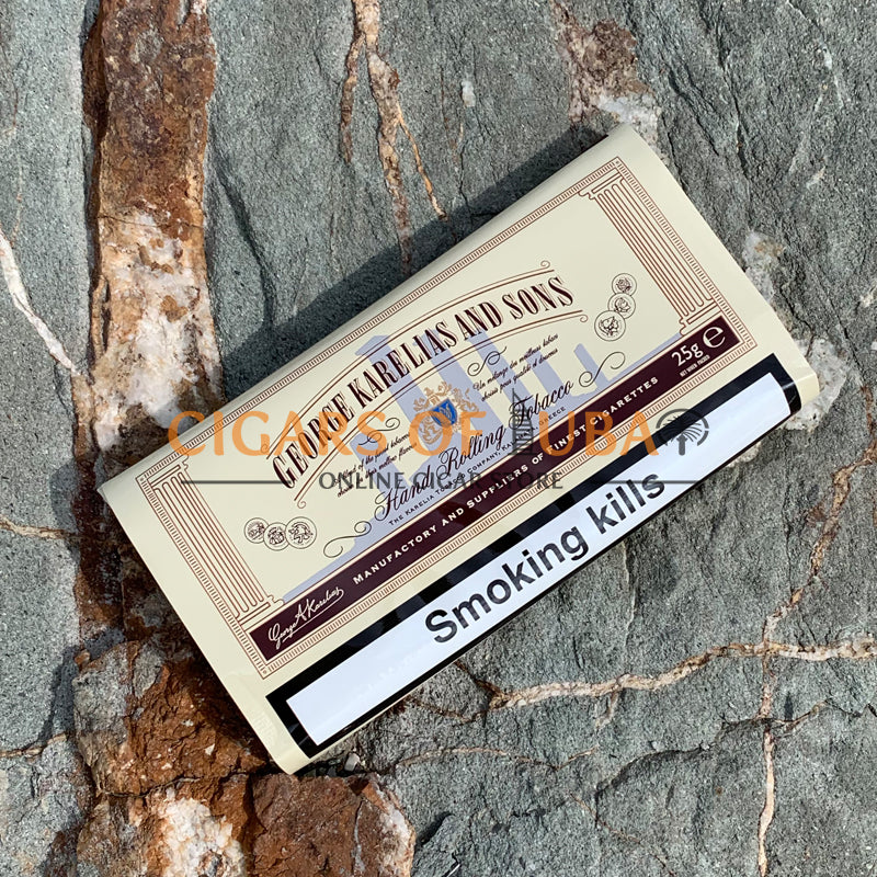 George Karelias White (Smooth) 25g - Cigars of Dubai
