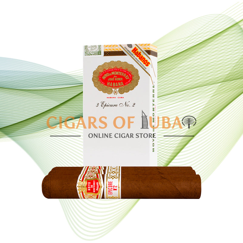 Hoyo De Monterrey Epicure No. 2 (5x3 Packs) - Cigars of Dubai