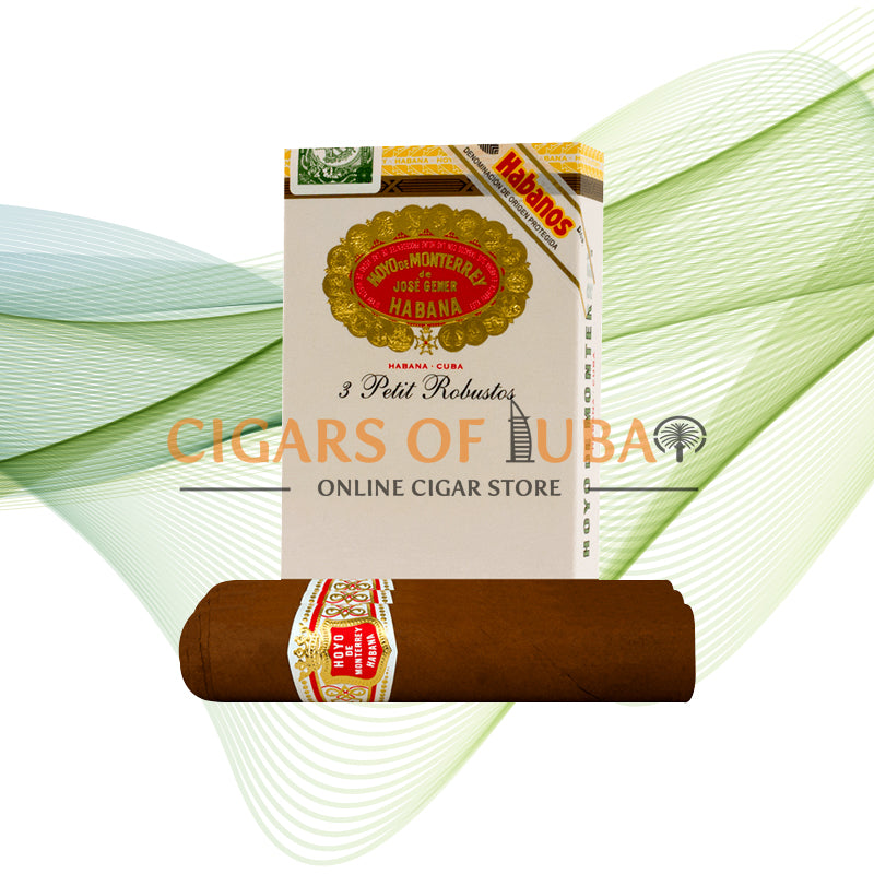 Hoyo De Monterrey Petit Robustos (5x3 Packs) - Cigars of Dubai