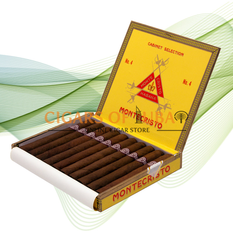Montecristo No. 4 (Box of 10) - Cigars of Dubai