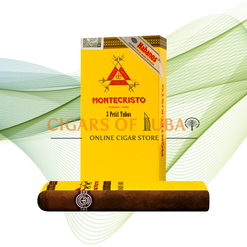 Montecristo Petit Tubos (5x3 Packs) - Cigars of Dubai