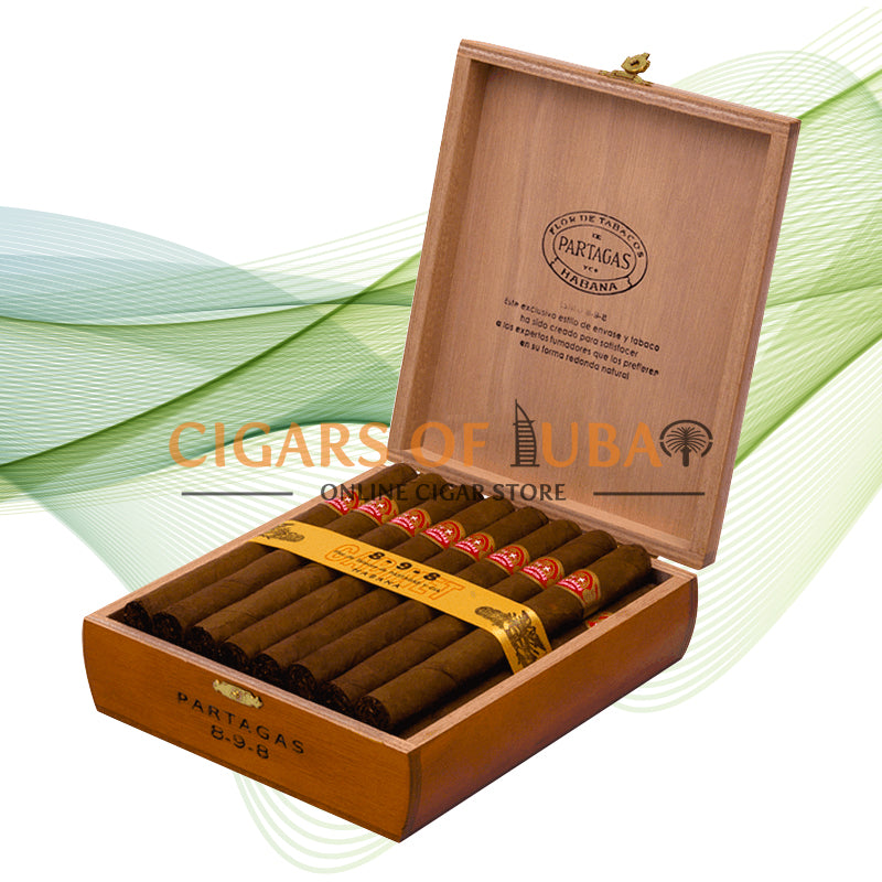 Partagas 898 Varnished - Cigars of Dubai