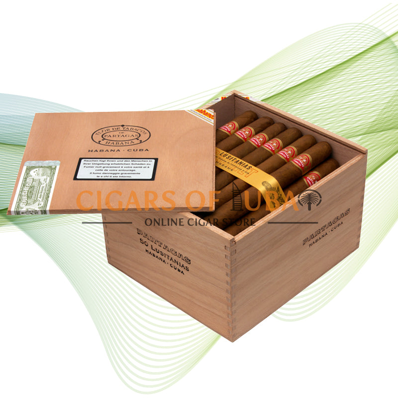 Partagas Lusitanias (Cab of 50) - Cigars of Dubai