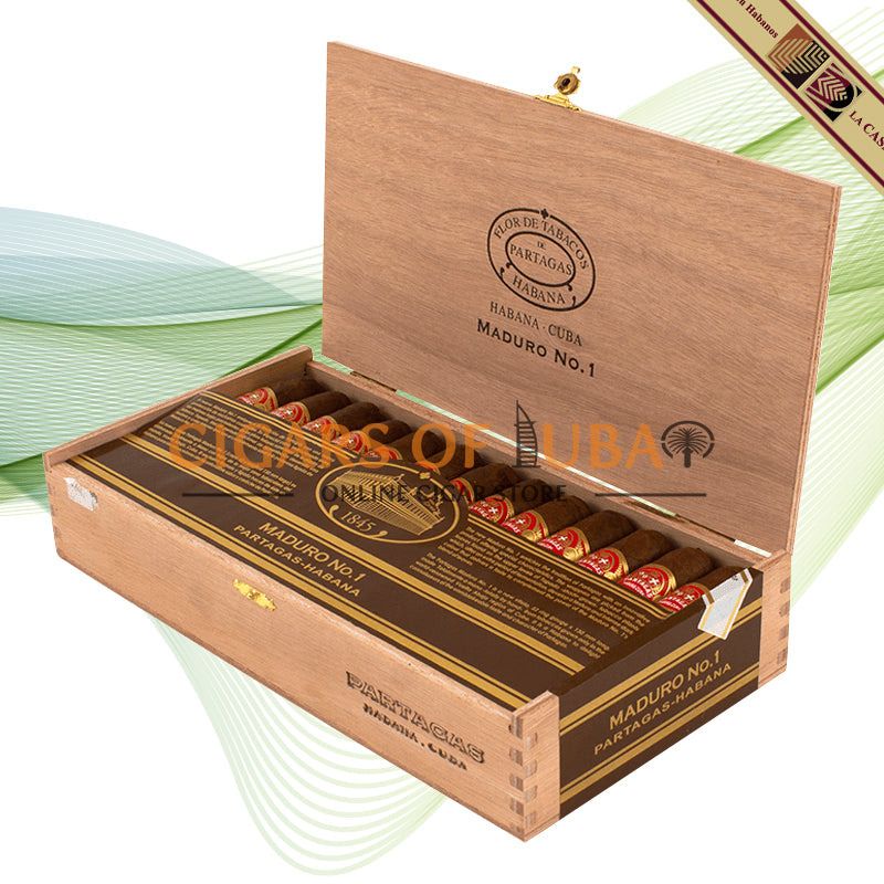 Partagas Maduro No.1 (LCDH) - Cigars of Dubai