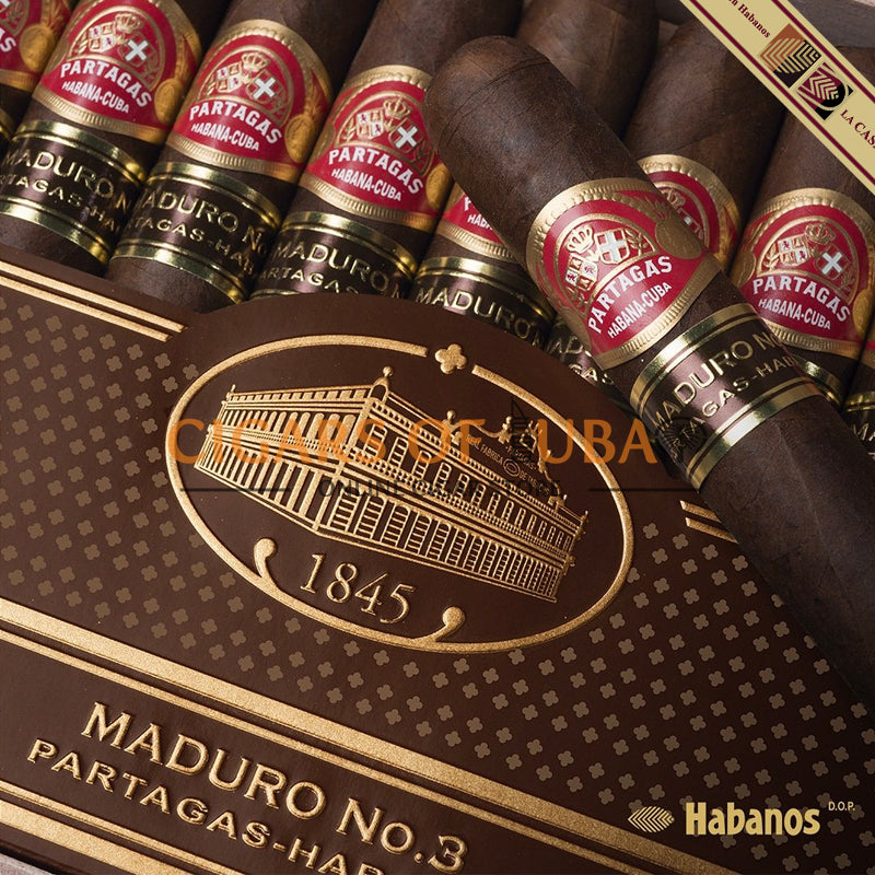 Partagas Maduro No.3 (LCDH) - Cigars of Dubai