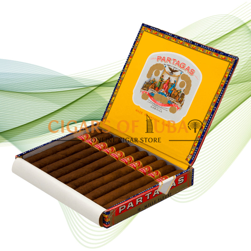 Partagas Mille Fleurs (Box of 10) - Cigars of Dubai