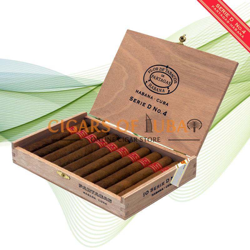 Partagas Serie D No. 4 (Box of 10) - Cigars of Dubai