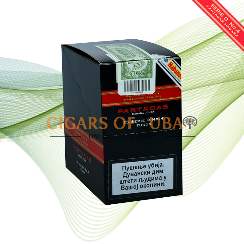 Partagas Serie D No.4 Tubos (5x3 Packs) - Cigars of Dubai