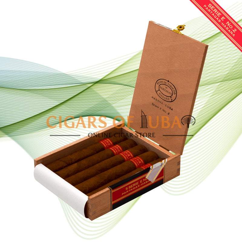 Partagas Serie E No.2 (Box of 5) - Cigars of Dubai