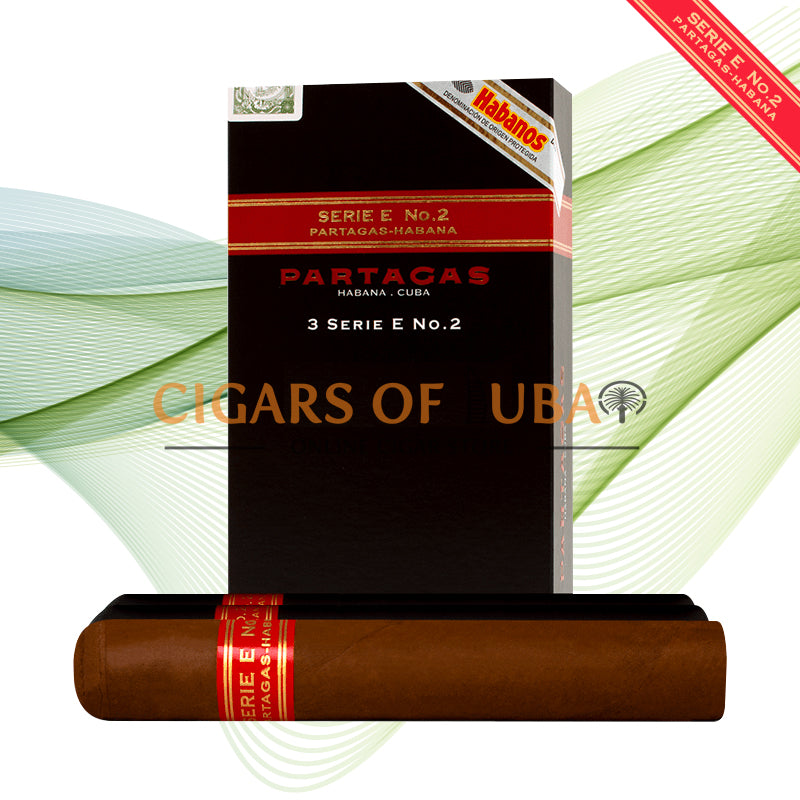 Partagas Serie E No.2 Tubos (5x3 Packs) - Cigars of Dubai