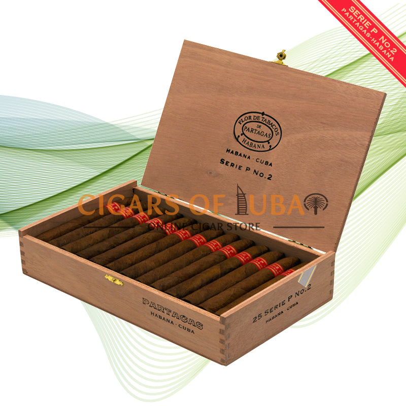 Partagas Serie P No. 2 - Cigars of Dubai