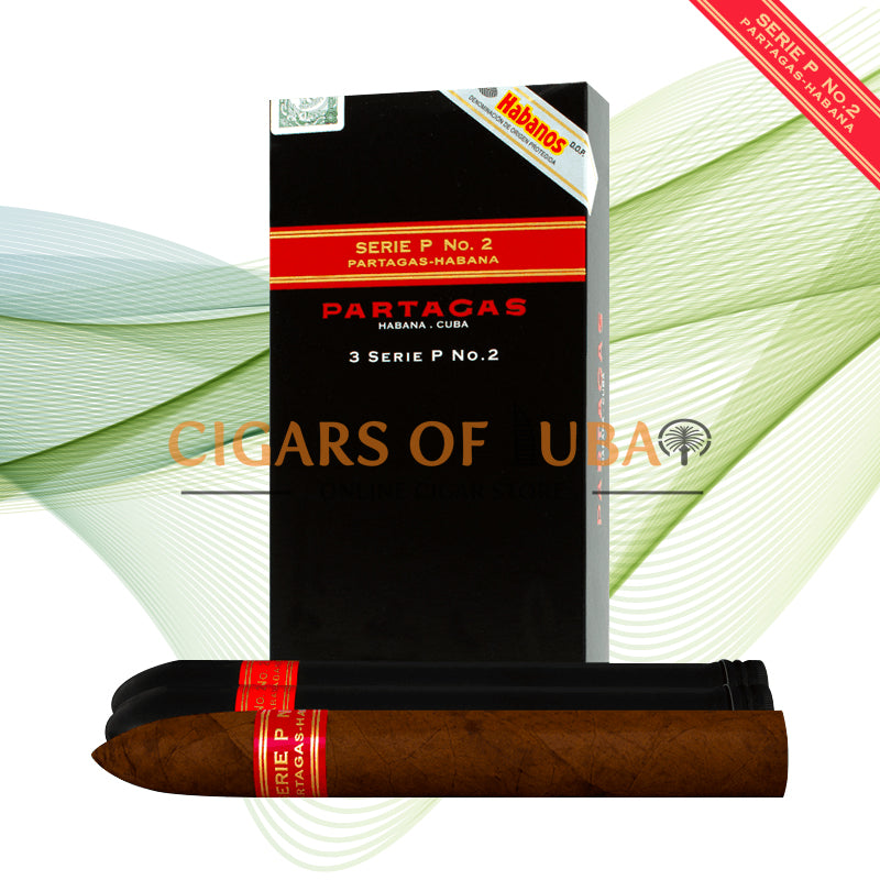 Partagas Serie P No.2 Tubos (5x3 Packs) - Cigars of Dubai