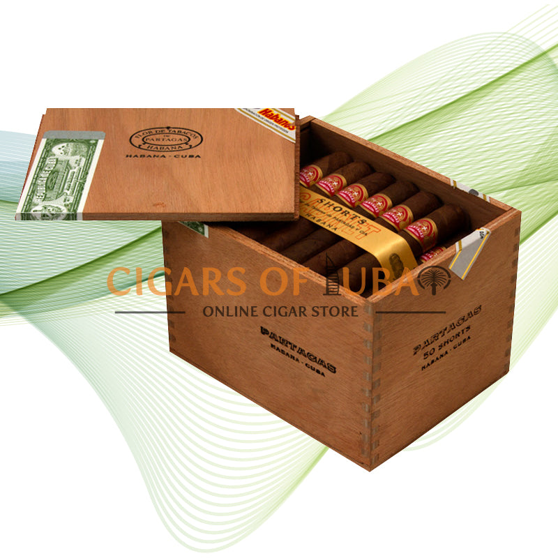Partagas Shorts (Cab of 50) - Cigars of Dubai