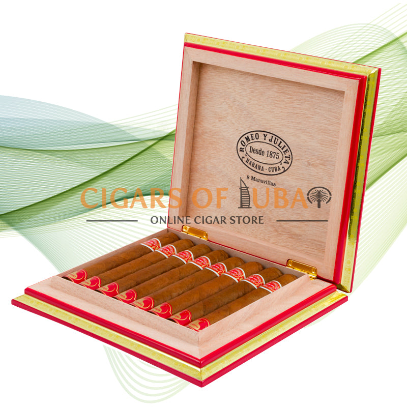 Romeo y Julieta 8 Maravillas Year Of The Rat 2020 - Cigars of Dubai