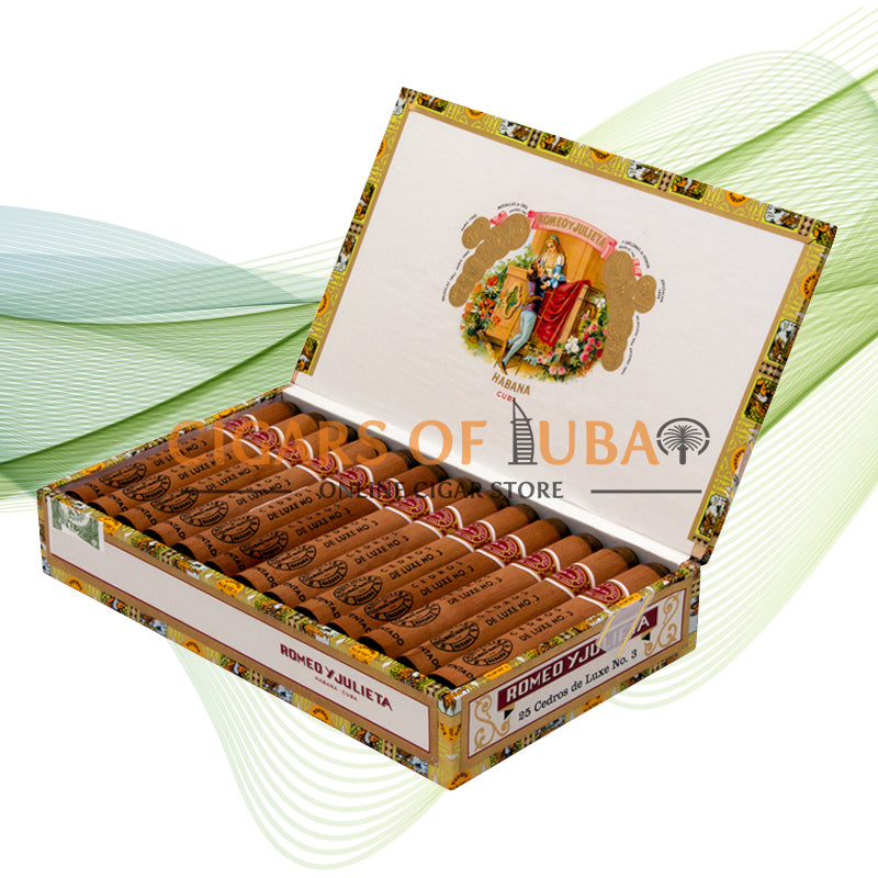 Romeo y Julieta Cedros De Luxe No. 3 - Cigars of Dubai
