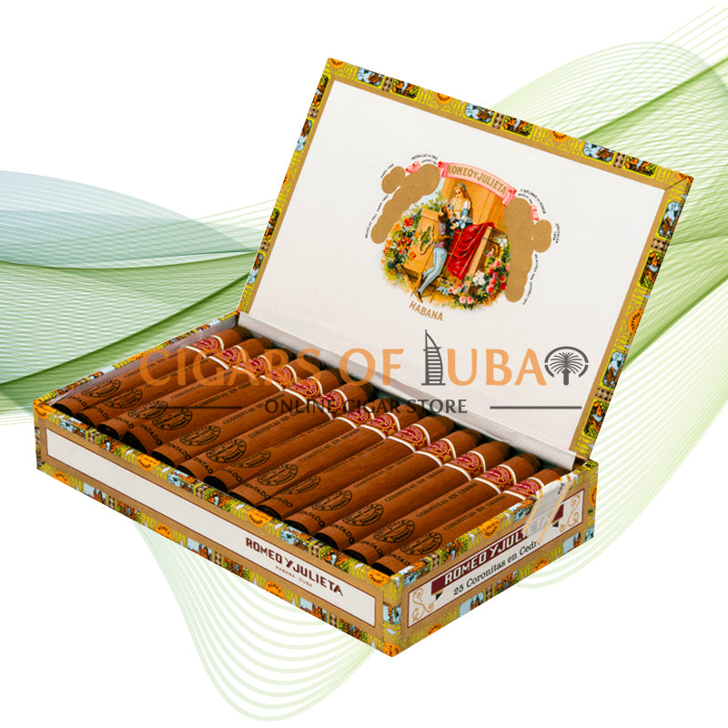 Romeo y Julieta Coronitas En Cedro - Cigars of Dubai