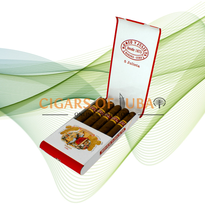 Romeo y Julieta Julietas (5x5 Packs) - Cigars of Dubai