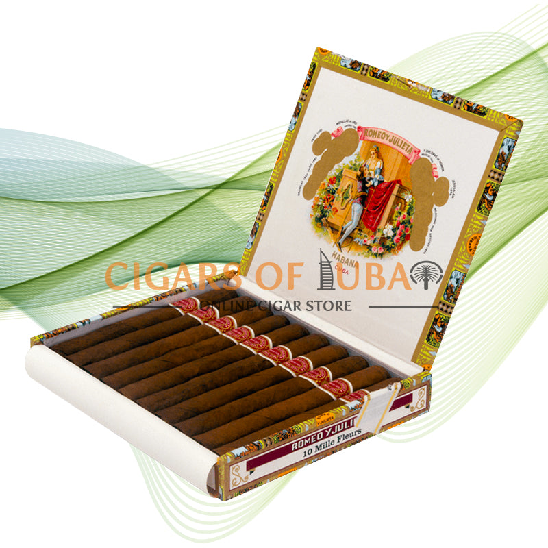 Romeo y Julieta Mille Fleurs (Box of 10) - Cigars of Dubai