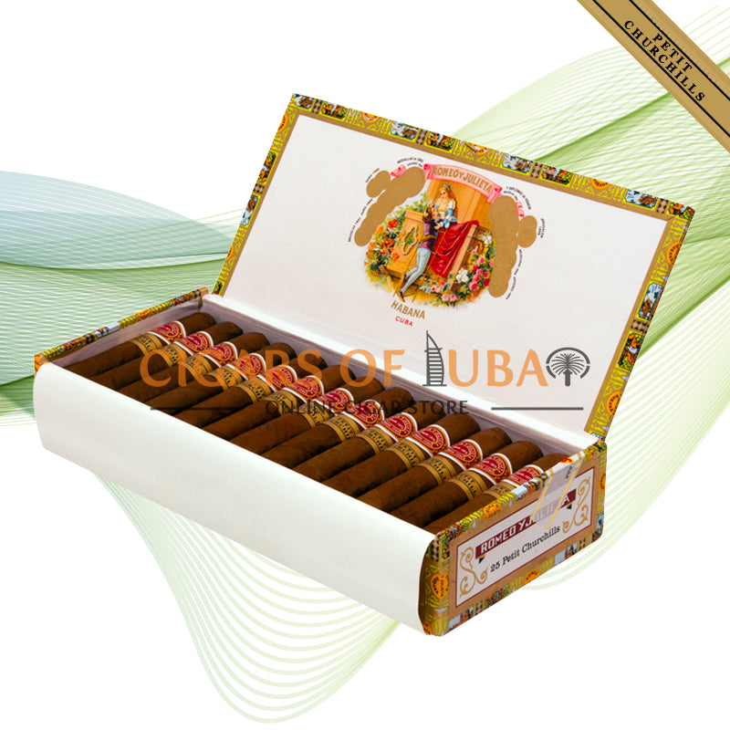 Romeo y Julieta Petit Churchills - Cigars of Dubai