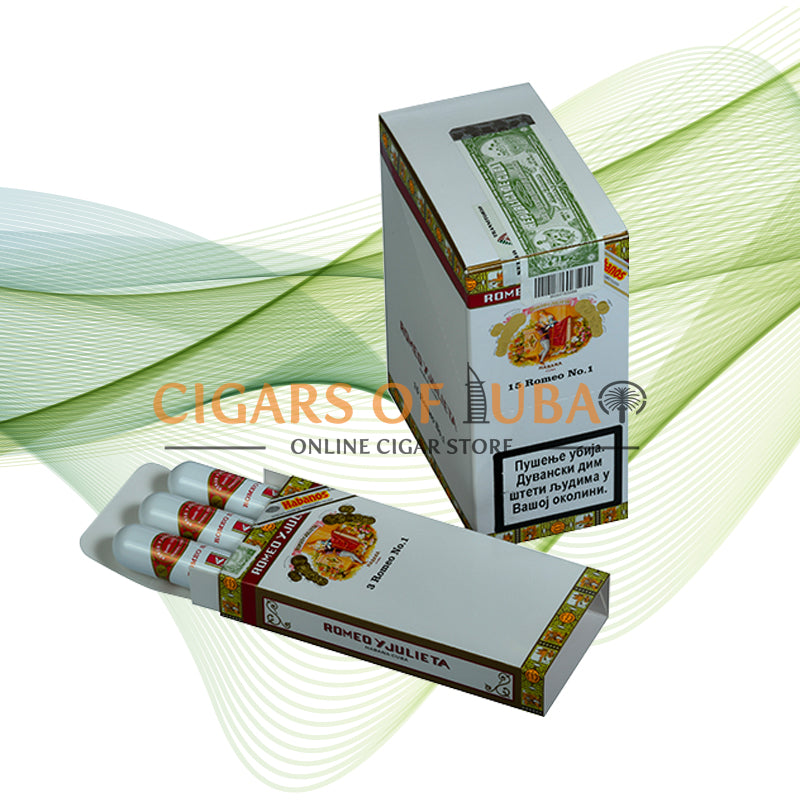 Romeo y Julieta Romeo No.1 Tubos (5x3 Packs) - Cigars of Dubai