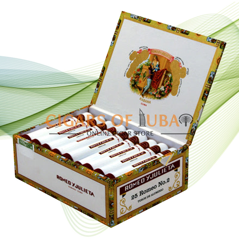 Romeo y Julieta Romeo No.2 Tubos - Cigars of Dubai