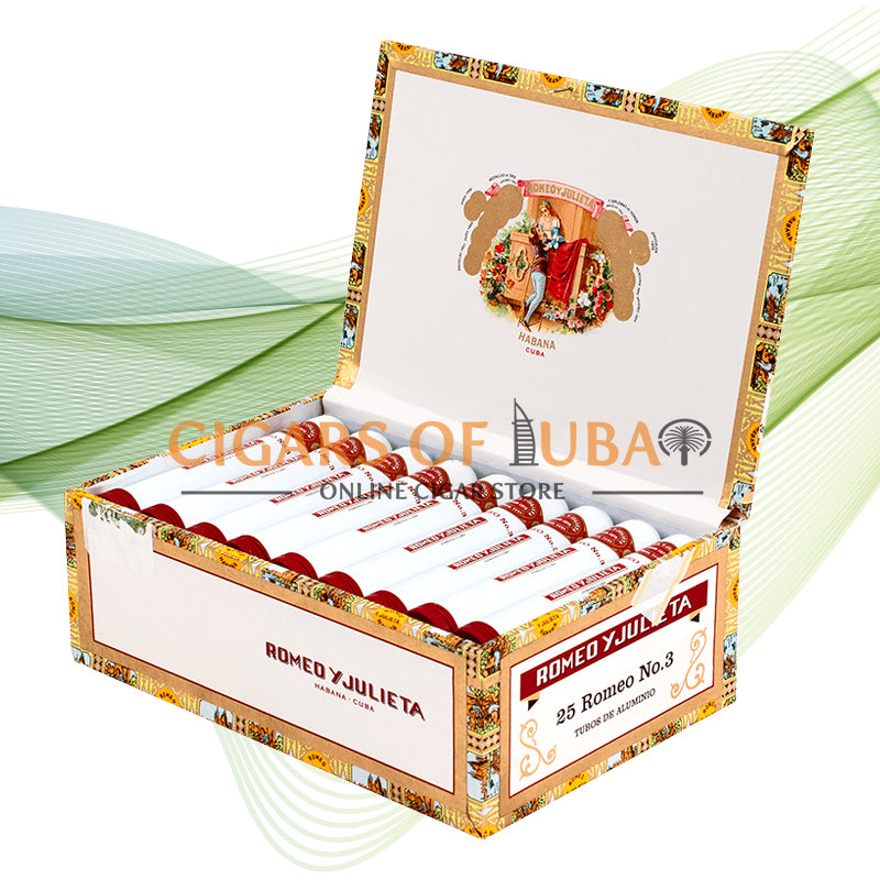 Romeo y Julieta Romeo No.3 Tubos - Cigars of Dubai