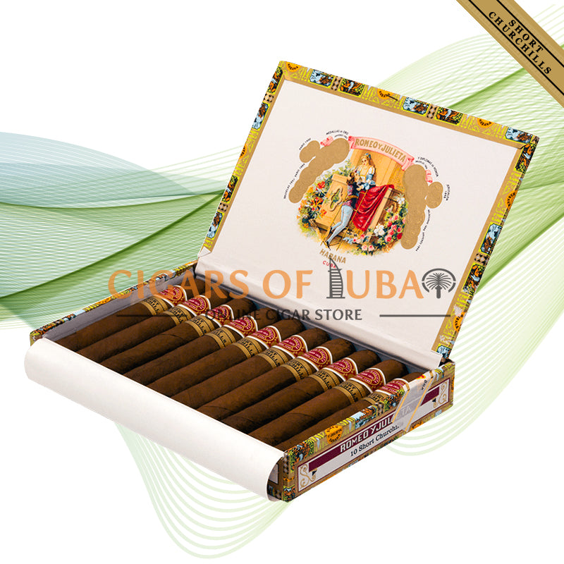 Romeo y Julieta Short Churchills (Box of 10) - Cigars of Dubai