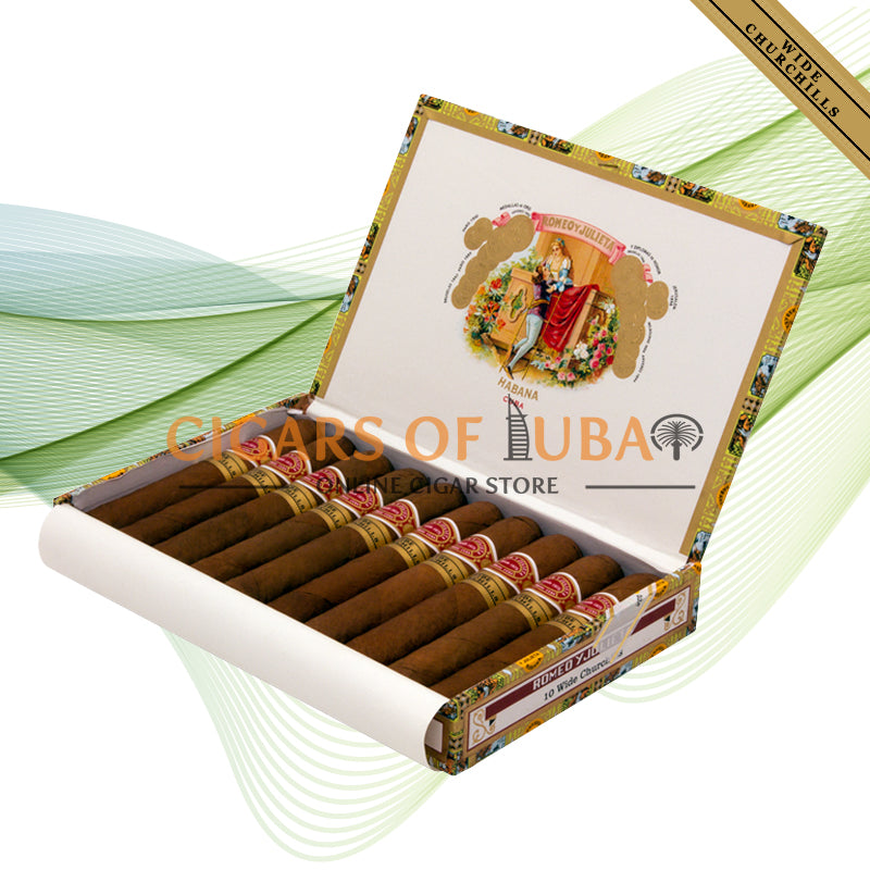 Romeo y Julieta Wide Churchills (Box of 10) - Cigars of Dubai