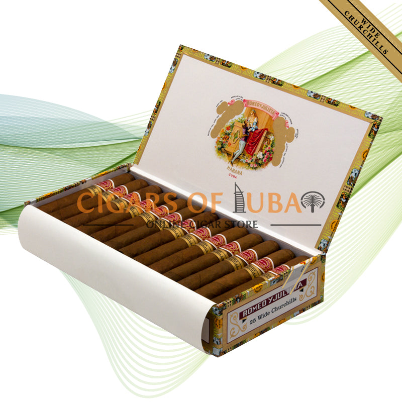Romeo y Julieta Wide Churchills - Cigars of Dubai