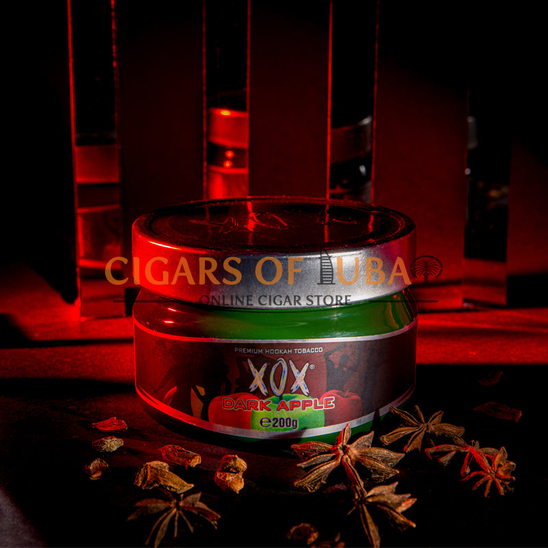 XOX Hookah Shisha Tobacco - Dark Apple (Natural) - Cigars of Dubai