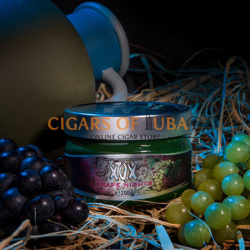 XOX Hookah Shisha Tobacco - Grape Nights (Natural) - Cigars of Dubai