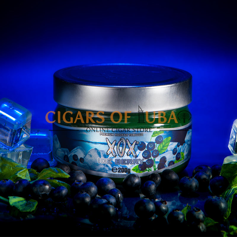 XOX Hookah Shisha Tobacco - Ice Berry (Natural) - Cigars of Dubai