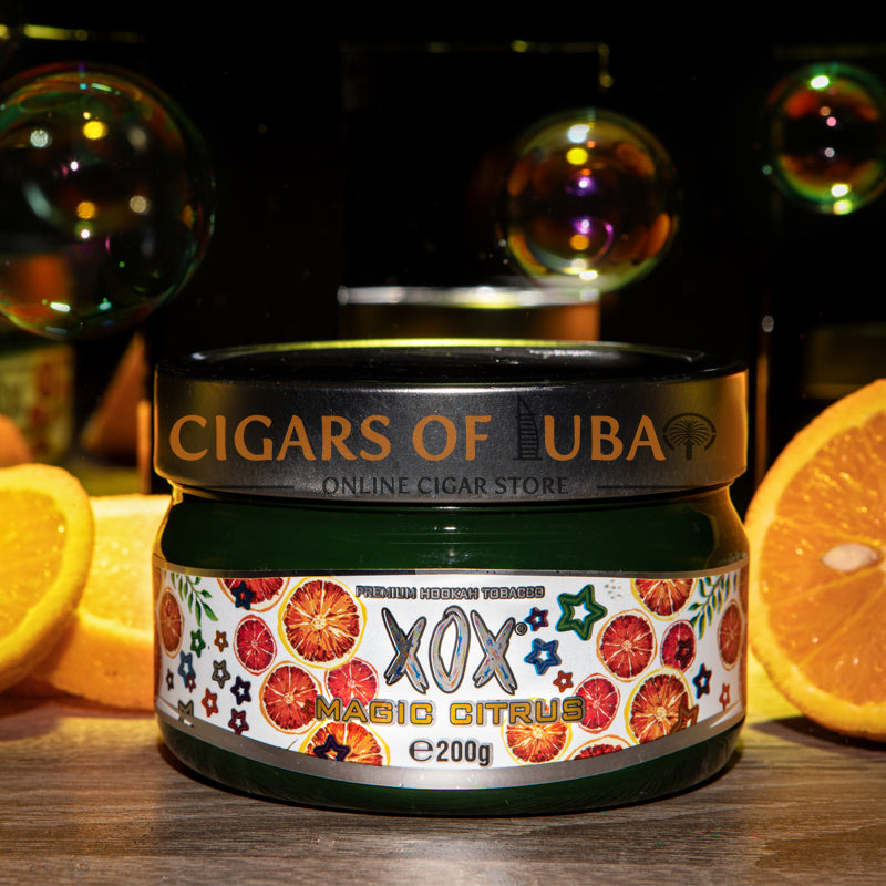 XOX Hookah Shisha Tobacco - Magic Citrus (Natural) - Cigars of Dubai