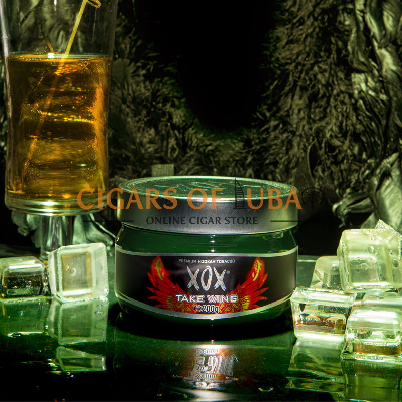 XOX Hookah Shisha Tobacco - Take Wings (Natural) - Cigars of Dubai
