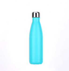 Gourde isotherme 500 ML PERSONNALISABLE (Satin Azur)