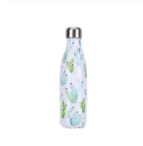 Gourde isotherme 500 ML PERSONNALISABLE (Motif Cactus 1)