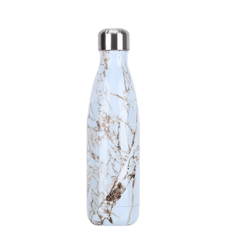 Gourde isotherme 500 ML PERSONNALISABLE (Marble 04)