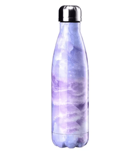 Gourde isotherme 500 ML PERSONNALISABLE (Marble 02)