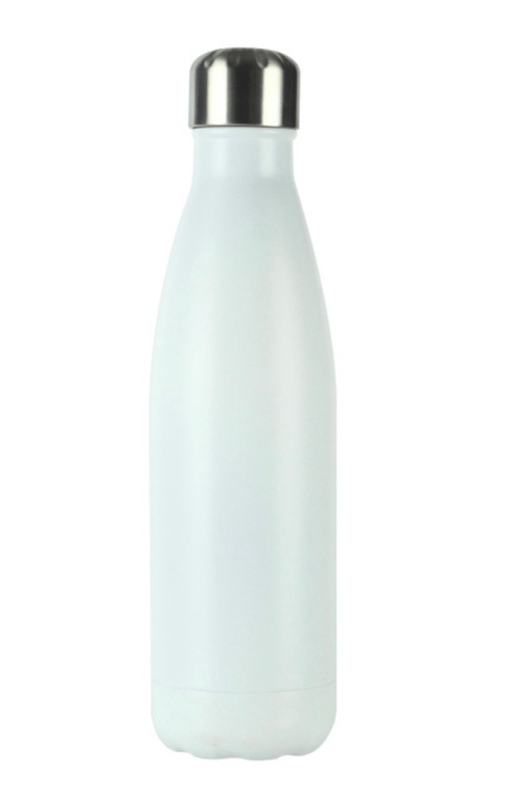 Gourde isotherme 500 ML PERSONNALISABLE (Sweet White)