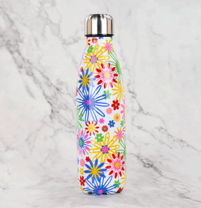 Gourde isotherme 500 ML PERSONNALISABLE (Motif Flower 2)